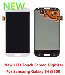 touch screen lcd 2019 - Free New Great Original LCD Quality Tested Touch Screen Digitizer For Samsung Galaxy S4 i9500 I337 i9505 i545 10pcs lot