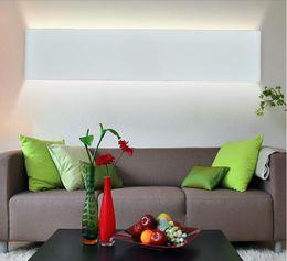 Modern Art Deco Bathrooms Canada - 2016 new design Modern 24cm Long 6W Aluminum LED Wall Lamps for livingroom bathroom as Decoration Sconce Light 90-260V lamparas de pared