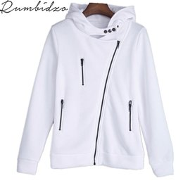 $enCountryForm.capitalKeyWord NZ - 2017 Autumn Winter Hoodies Sweatshirt For Women O-Neck Sexy White Black Hooded Long Sleeve Casual Solid Color Fleece Sweatshirts