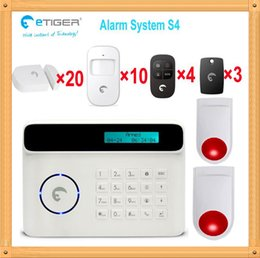 $enCountryForm.capitalKeyWord Canada - Free shipping DHL, 2 wireless outdoor alarm flashing siren home security kit alarm gsm for big country house etiger S4