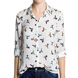 Discount Womens Printed Patterned Blouses | 2017 Womens Printed ...