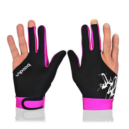 Оптовые новые перчатки для настольного тенниса прибытия Снукерные перчатки