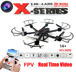 $enCountryForm.capitalKeyWord Canada - Upgrade FPV drone MJX X600 2.4G 6 Axis RTF RC Quadcopter Drone Can Add C4005 Camera with one key return button