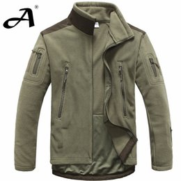 Chinese  Fall-mens clothing autumn winter fleece army jacket softshell outdoor hunting clothing for men softshell  style jackets manufacturers