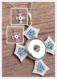 Christian easter gifts online christian easter gifts for sale noosa christian cross metal ginger snap on jewelry button pendants necklace interchangeable jewerly 3 colors for choices negle Images
