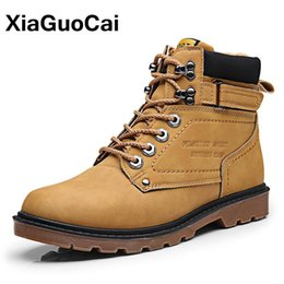 Ankle High Cowboy Boots Men Canada - male 2018 Autumn Winter Men Tooling Boots High Top Lace Up Army Ankle Boots High Quality Male Martin Boots Men's Footwear