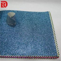 Pink Glitter Wallpaper Wholesale Canada - Glitter pu fabric wallpaper waterproof wallpaper