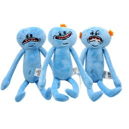 9.8inch(25cm) Rick and Morty Happy Sad Meeseeks Stuffed Plush Stuffed Toys Dolls For Kids Gift from wallet key ring manufacturers