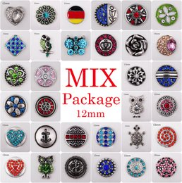 Wholesale Vocheng Noosa Clearance Sale Mix Sales bag Random Choice12mm Ginger Snap Button Jewelry Vn