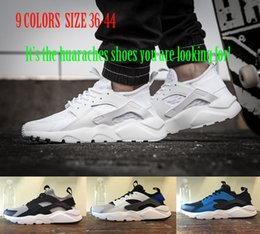 High Cut Shoes For Men Fashion Canada - 2018 new air Huarache 4 IV Running Shoes for Mens Women breathable outdoor Original High Quality Sneakers fashion man athletic Sports Shoes