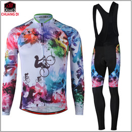 $enCountryForm.capitalKeyWord NZ - 2018 New Cycling Jersey Painting Long Sleeve Racing Bike cube Cycling Clothing MTB Cycle Clothes Wear Ropa Ciclismo Sportswear