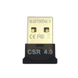 Universal MINI USB Adaptador Bluetooth CSR 4.0 8510 CSR8510 A10 Dongle sem fio CSR4.0 V4.0 Para Win10 7 Lan acesso dial-up para Respberry pi