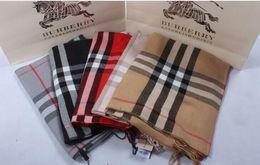 Purple Cotton Scarf NZ - zhu Check Women Wool Cotton Cashmere Silk Scarves Scarf Wrap Shawl Pashmina 180X70