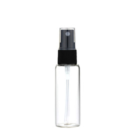 Chinese  20ML Mini Amber Glass Spray Bottle Atomizer Black Sprayer Refillable Perfume Bottle Vial Fine Mist Empty Cosmetic Sample Gift Container manufacturers