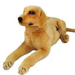 Dog christmas presents online shopping - Emulational Labrador Dog Plush Toy Big Suffed Realistic Animals Dogs Doll cm inch Nice Kids Present