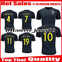 shirt 2018 world cup green thai quality soccer jersey neymar jr 17 18 brazil pele oscar d 2014 world