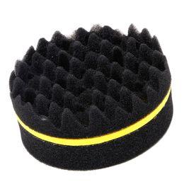 $enCountryForm.capitalKeyWord Canada - Wholesale- Hair Magic Twist Sponge Brush Round For Dreads Locking Coil Afro Curl Wave Tool