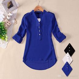 d390f0677 Camisa Blanca Negra De La Gasa De La Mujer Online | Camisa Blanca ...