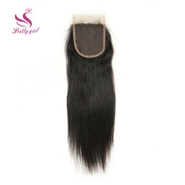 $enCountryForm.capitalKeyWord Canada - Top Lace Closure 7A Malaysian Straight Virgin Human Hair Full Lace Closures Free Middle 3 Way Part Bleached Knots Closures 4x4 Size 8-22inch
