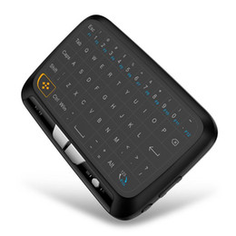 WindoWs mini smart pc online shopping - New H18 Wireless Air Mouse Full Touchpad Mini Keyboard GHz Gaming Touch pad For Smart TV PS3 TV Box PC Android Windows