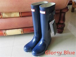 drop shipping boots women wellies rainboots ms glossy wellington rain boots wellington knee boots fast delivery welly