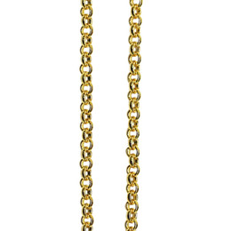 $enCountryForm.capitalKeyWord UK - Sterling silver hollow rolo chain bulk chain for jewelry making, 1.5x1.5 mm, sold by M