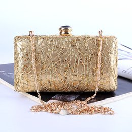 $enCountryForm.capitalKeyWord NZ - Wholesale Factory brand new handmade sequins evening bag clutch with satin for wedding banquet party porm(More colors)