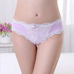 Barato Doces Calcinhas Renda-New Underwear Mulheres Sexy Lingerie Breves Panties Feminino Marca Hipster Sem costura Lace Panty Candy Imprimir Meninas Boyshorts 24pcs / lot