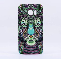 $enCountryForm.capitalKeyWord Canada - Painted king Luminous Aztec Jungle Animal Lion Tiger wolf Glow Cases for Samsung Galaxy S7 Edge Elephant Matte Covers