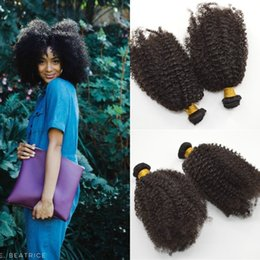 permed curly hair NZ - Cheap Mongolian Kinky Curly Hair Weave Bundles,Romance Afro Mongolian Kinky Curly Virgin Hair Weft Extensions,G-EASY Afro Curly Human Hair