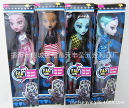 Figures Canada - Monster High Dolls Action Figure dolls Toys Moveable Joint Body play house tools With retail boxes