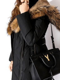 $enCountryForm.capitalKeyWord Canada - Women Long Down Jackets with real raccoon fur collar hood lined with rabbit fur Ms coats