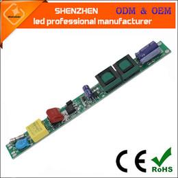 AC85-265V 50/60 Hd DC25-80 V 12-36 w T5 T8 T8 não-isolado tubo Tubo Driver não-isolado Isolamento de Alimentação de Iluminação Transformadores LEVOU
