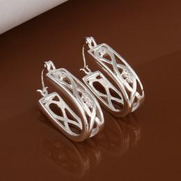 $enCountryForm.capitalKeyWord UK - U Styles Charming hoop earrings 925 Silver Fashion Trendy Nice Summer Wearing Jewelry Brand New e387