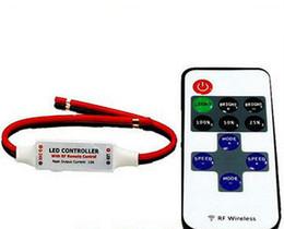 $enCountryForm.capitalKeyWord UK - 12A Dimmer Mini RF LED Controller for Single Strip Light SMD 3528 5050 5630 Strips Lamp Tape Ribbon Wireless Remote Controll DC 5V-24V