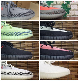 8b5b3a1fd ... 2018 350 v2 v3 boost cp9366 triple white zebra uv light kanye west  sneakers men women