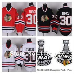 $enCountryForm.capitalKeyWord Australia - Wholesale Chicago Blackhawks Belfour Jersey #30 Finals Champions Ed Belfour Ice Hockey Jerseys Home Road Red White Black