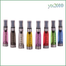 clearomizer ego t 2019 - Ce5 Vaporizer E Cigs No Wick 510 Thread 1.6ml Atomizer 2.4 ohm 8 colors Clearomizer For Electronic Cigarette ego T EVOD