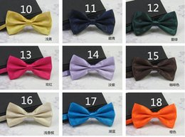 bowties style NZ - NEW Fashion Arrival cheap Male Wedding Bowties Pure color Men's Ties Men's Bow ties Men's Ties Many Style Bowtie Groom bowtie 25colors R12