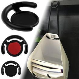 Multifuncional telefone titular monut clipe de parede do carro gancho de escritório em casa para iphone samsung celular tablets com saco de varejo preto branco venda por atacado