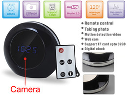 Avi video recorder online shopping - Multifunctional Alarm Clock Camera DVR With Remote Control Motion Detection Clock Video recorder HD x960 AVI Home Security Camera Clock
