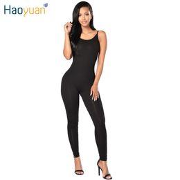 2b1c2fa565b 6 cores 2017 New Summer Strapless Spaghetti Strap Sexy Women Rompers E  Jumpsuits Plus Size Black White Longa Macacão Bodysuit q1110