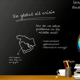 $enCountryForm.capitalKeyWord Canada - Adhesive Blackboard Sticker Chalkboard Vinyl Panel Home School Office 45*200CM Removable Decal with 5 Free Chalks Memory Aid
