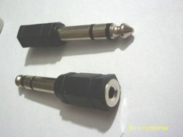 "$enCountryForm.capitalKeyWord NZ - 50pcs 6.3mm 1 4"" inch Stereo Male   3.5mm Stereo Female Adaptor"