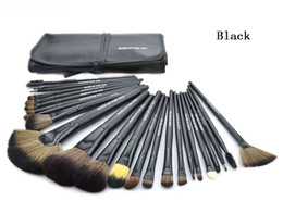 Discount making tools - Professional Makeup Brushes Set 24pcs Portable Full Cosmetic Make up Brushes Tool Foundation Eyeshadow Lip brush with Ba