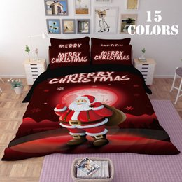 queen size christmas bedding NZ - CAB001- Multi-Choice Christmas Theme 3D Print Duvet Bedding Cover Pillow Cases Quilt Cover Bed Set Queen Sizes Bedding Set Christmas
