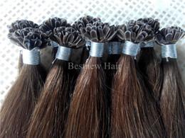 $enCountryForm.capitalKeyWord Canada - 100g 18inch 20inch 22inch 24inch 26inch 1g #6 Keratin Prebonded Nail U tip Hair Extensions Silk Straight INDIAN Remy Pre bonded Hair