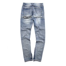 Jeans Homme Masculin Pas Cher-2017 Chaude Gâteau Hommes Chinois Caractères Splash-encre Jeans Whisker Holed Ripped Mode Crayon Pantalon Drop Shipping