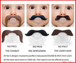 quality mustache 2019 - 2015 Hot Sale 20pcs lot Baby Funny Beard High Quality Europe Fashion Pacifiers Infant Boys Girls Cartoon Cute Mustache S