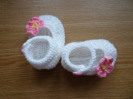 $enCountryForm.capitalKeyWord Australia - White, Knit Baby boots, knit girls boots, knit Baby booties, pink, baby girl shoes , knitted baby shoes, handmade0-12M customize